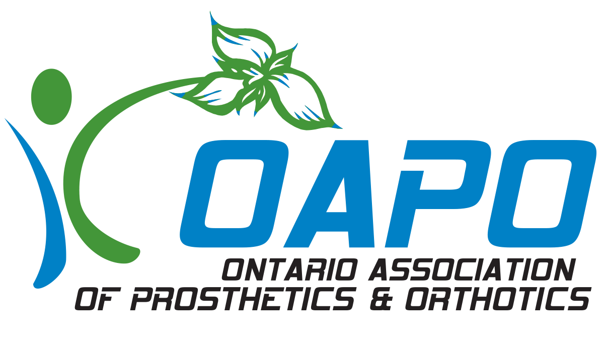 The OAPO Logo on a Transparent Background with White Text